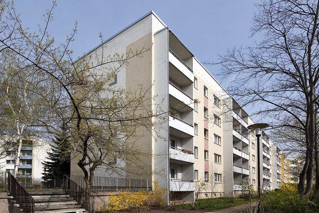 Hausansicht: 2-Raum-Wohnung Brüsseler Straße 12