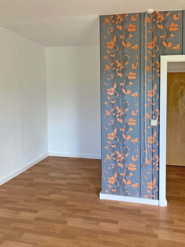 Schlafbereich: 1-Raum-Wohnung Weißenfelser Straße 23