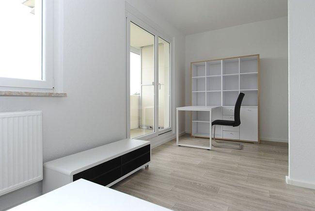 Arbeitsbereich: 1-Raum-Wohnung Weißenfelser Straße 23
