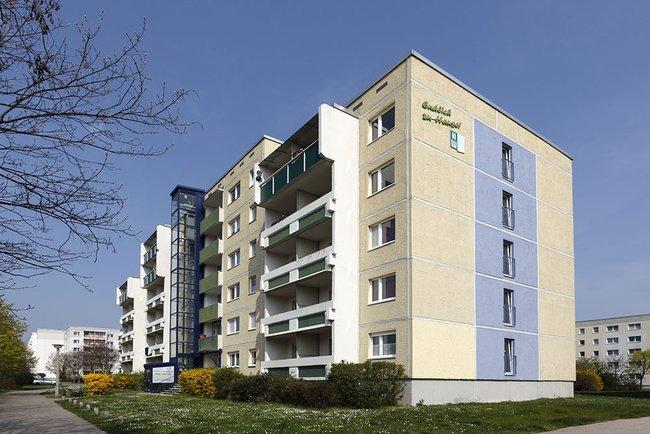 Hausansicht: 2-Raum-Wohnung Weißenfelser Straße 23