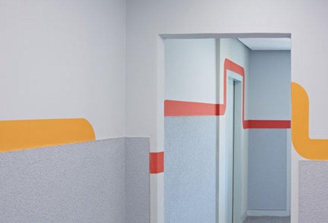 Hauseingang: 1-Raum-Wohnung Voßstraße 7