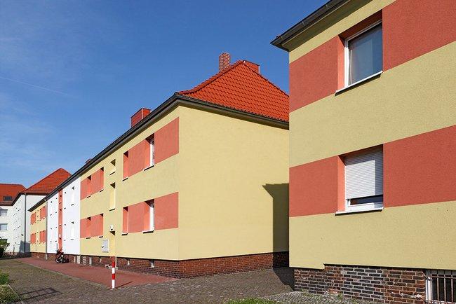 Hausansicht: 1-Raum-Wohnung Eugen-Schönhaar-Straße 9