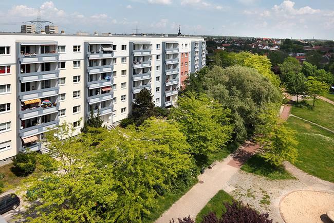 Hausansicht: 2-Raum-Wohnung Am Hohen Ufer 10