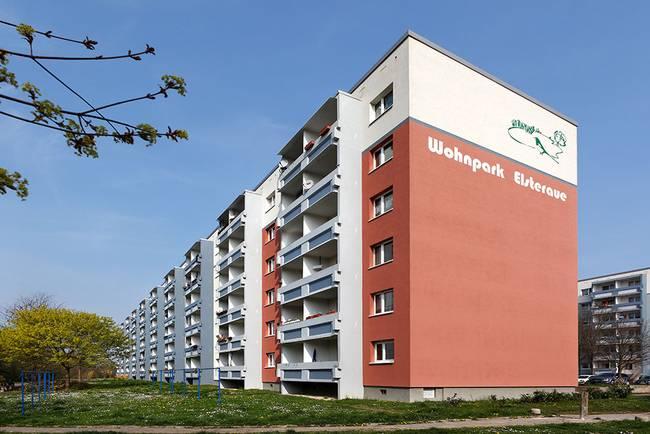 Hausansicht: 2-Raum-Wohnung Am Hohen Ufer 34