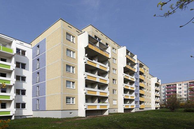 Hausansicht: 1-Raum-Wohnung Weißenfelser Straße 45