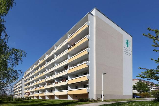 Hausansicht: 3-Raum-Wohnung Heidekrautweg 5