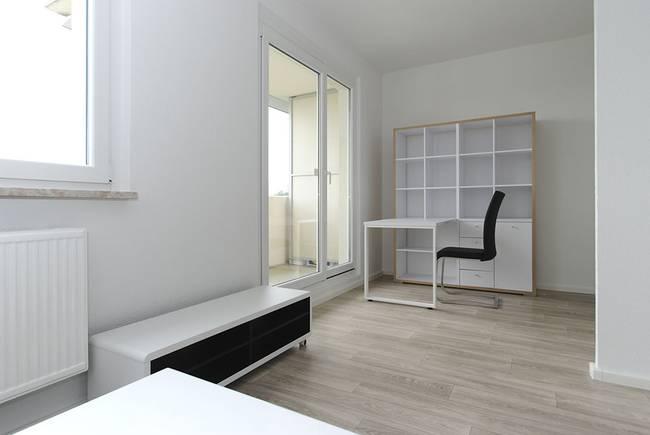 Arbeitsbereich: 1-Raum-Wohnung Weißenfelser Straße 49