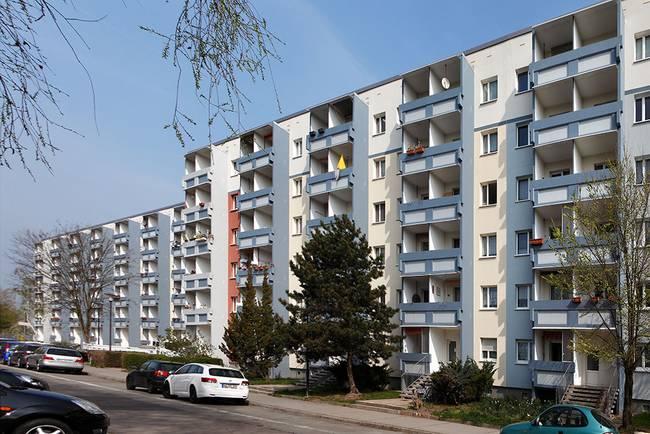 Hausansicht: 2-Raum-Wohnung Am Hohen Ufer 4