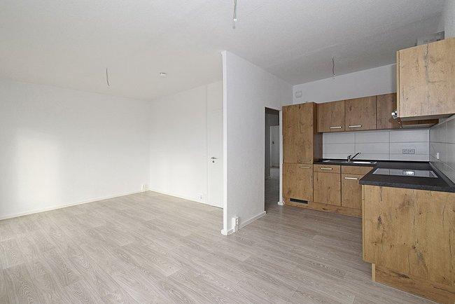 Küchenbereich: 3-Raum-Wohnung Guldenstraße 1