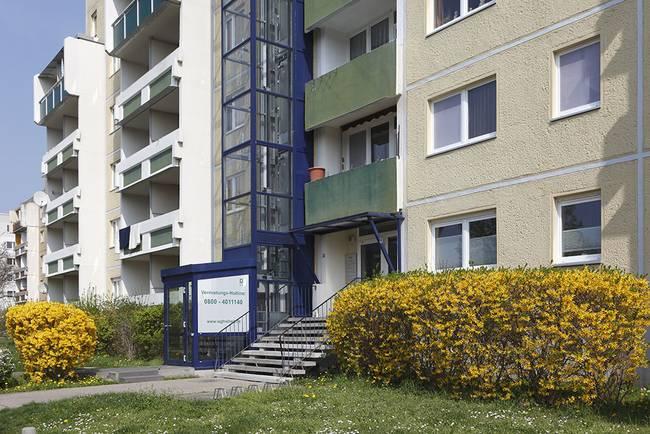 Hausansicht: 1-Raum-Wohnung Weißenfelser Straße 23