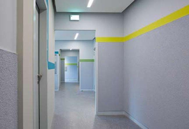 Treppenhaus: 2-Raum-Wohnung Voßstraße 7