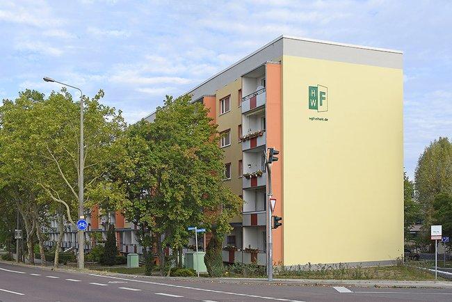 Hausansicht: 3-Raum-Wohnung Südstadtring 37