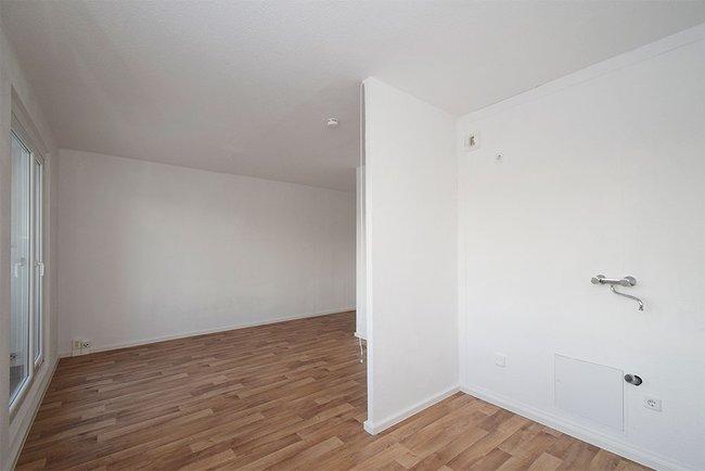 Küchenbereich: 1-Raum-Wohnung Weißenfelser Straße 23