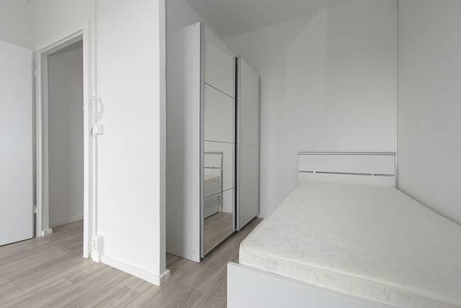 Schlafbereich: 1-Raum-Wohnung Weißenfelser Straße 49