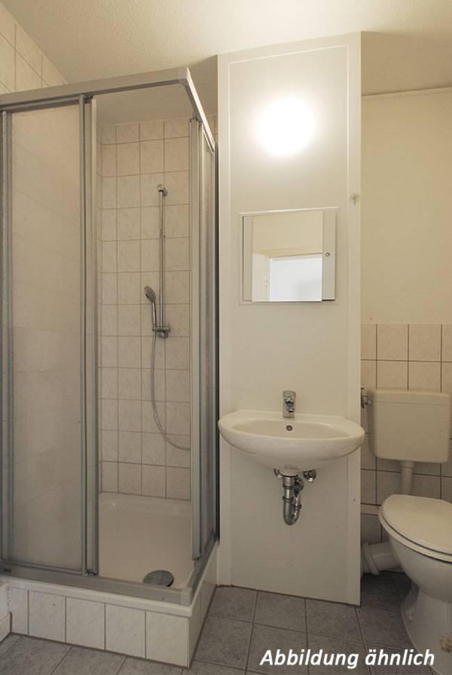 Duschbad: 1-Raum-Wohnung Kattowitzer Straße 5