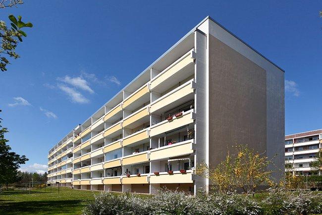 Hausansicht: 2-Raum-Wohnung Lindenweg 2
