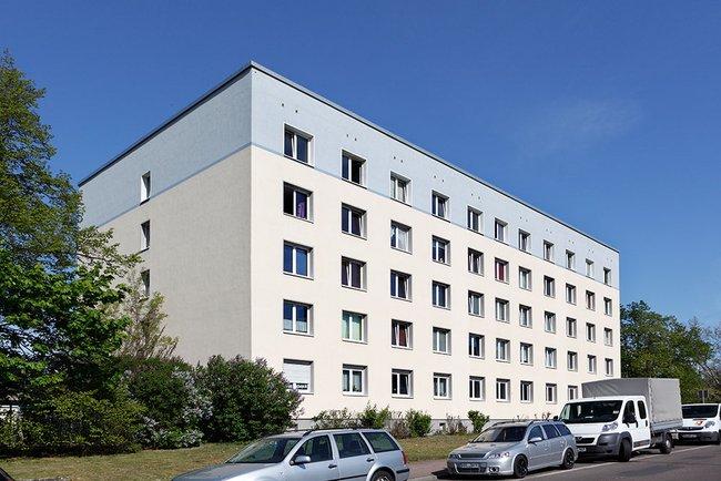 Hausansicht: 1-Raum-Wohnung Straße der Befreiung 16