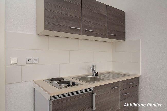 Pantryküche: 1-Raum-Wohnung Kattowitzer Straße 5