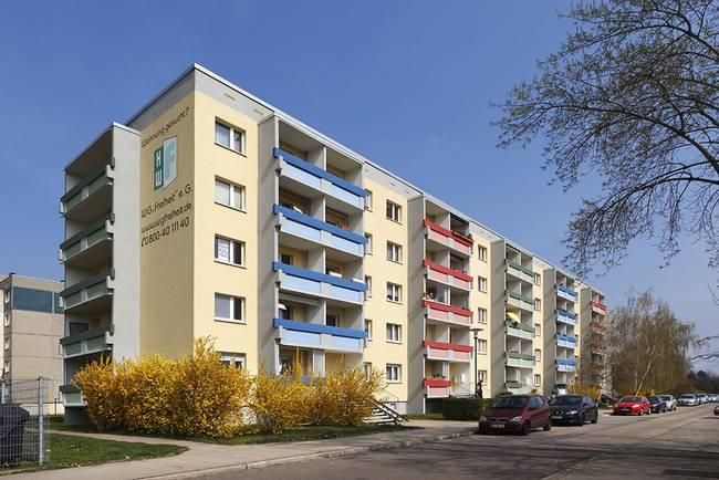 Hausansicht: 3-Raum-Wohnung Guldenstraße 1
