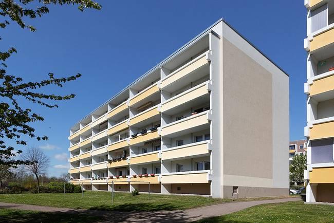 Hausansicht: 3-Raum-Wohnung Heidekrautweg 3