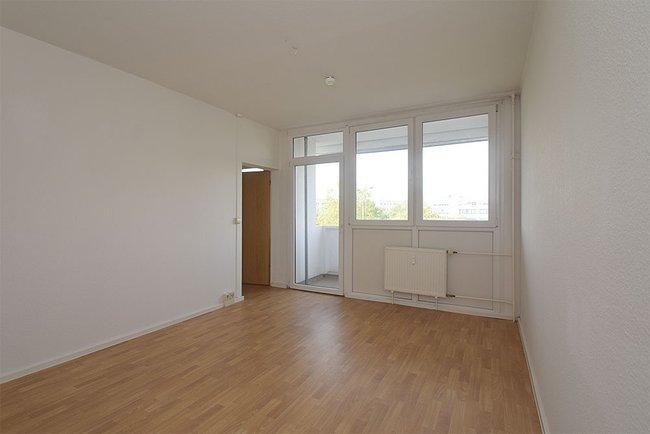 Schlafzimmer: 2-Raum-Wohnung Weißenfelser Straße 23