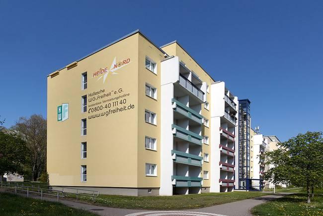 Hausansicht: 1-Raum-Wohnung Karpfenweg 18
